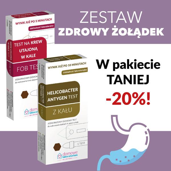 Zestaw zdrowy żołądek! Promocja! FOB + Helicobacter